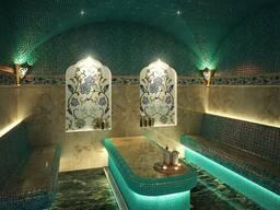 Строительство хамам (турецкая баня)