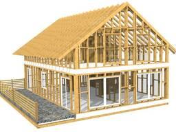 """Строительство """"каркасных"""" домов и деревянных конструкций"""