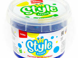 "Style Slime блестящий ""Синий с ароматом тутти-фрутти"". .."