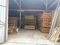 Сухая доска дуба, березы, сосны, со склада в Минске