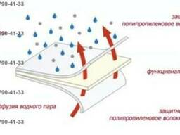 Супердиффузионная трехслойная кровельная мембрана