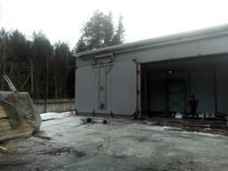 Сушильная камера 100 м. куб. загрузки