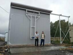 Сушильная камера для пиломатериала 50 м. куб. , 100 м. куб.