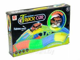 Светящаяся дорога Magic Tracks (Мэджик трек), 128 деталей + машинка + туннель