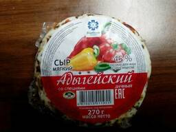 "Сыр Адыгейский ""Дачный"" 270 гр. мжд 45%"