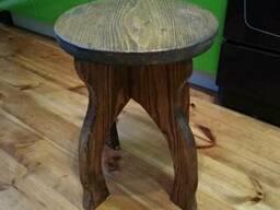 Табурет деревянный - фото 2