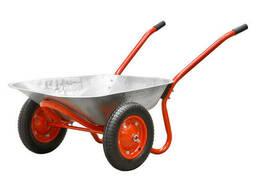 Тачка садовая ECO WB153-2 (80 л, 150 кг, 2 пневмоколеса 3.25-8)