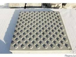 Тактильная тротуарная плитка (Приближение к опасной зоне)