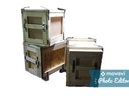 Тара деревянная, Ящики, Упаковка