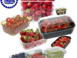 Тара для ягод, Лукошко для клубники, упаковка для ягод