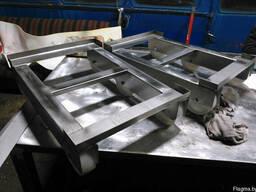 Тележка для ящиков из нержавеющей стали