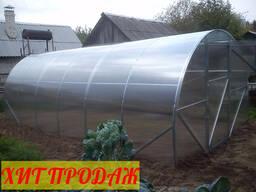 Теплица из поликарбоната 3х4м, 3х6м, 3х8м, 3х10 м. Доставка.