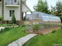 Теплицы из сотового поликарбоната для дачи, огорода
