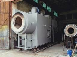 Теплогенератор твердотопливный 10 МВт. , от 0,5 до 20 МВт.