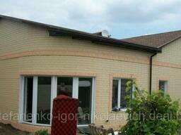 Термопанели для фасада и цоколя, утеплитель - пенопласт. .. .
