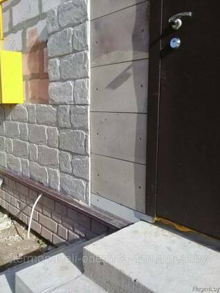 Термопанели для утепления и декорации фасад-цоколь. ..