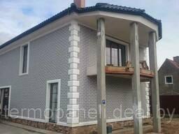Термопанели для утепления и декорации фасад цоколь