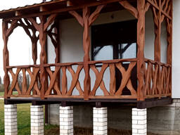 Строительство террас. Терраса под ключ. Пристройка террасы к дому.