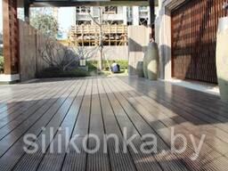 Террасная доска бамбуковая, дпк, террасный паркет decking.