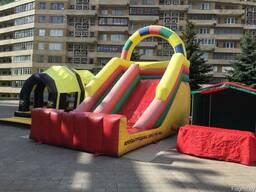 Аренда Аттракционы детские надувные Минск