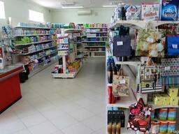 Торговые стеллажи б/у для магазина самообслуживания