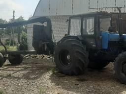 Трактор Беларус 12.21 с гидравлическим манипулятором
