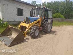 Трактор колёсный
