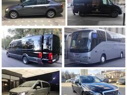 Трансфер на границу Россия, аренда авто и микроавтобусов