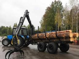 Требуются услуги по трелевке древесины