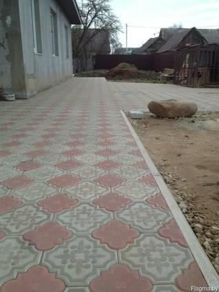Тротуарная плитка (черепаха, клевер, старый город и проч.)
