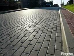Тротуарная плитка Кирпичик 20*10*6 см.