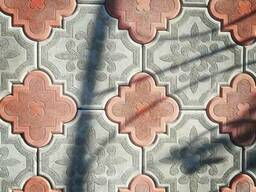 Тротуарная плитка Лотос.
