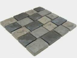 "Тротуарная плитка ""Старый Арбат"" мрамор из бетона"
