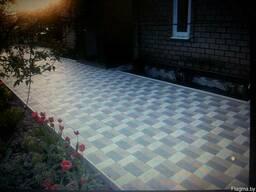 Тротуарная плитка вибропрессованная - фото 3