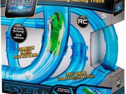 Гоночный трек в трубе Interesting Racing Track