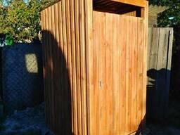 Деревянные туалеты для дома и дачи