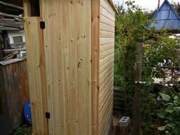 Туалет деревянный , уличный , дачный.
