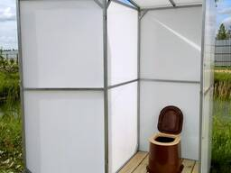 Туалет для дачи Импласт. Полный комплект. Доставка.