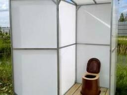 Туалет для дачи. Полный комплект. Доставка по всей области.