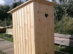 Туалет, хозблок для дачи, деревни, загородного участка