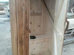 Туалет из массивам - фото 2