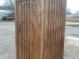 Туалет из массивам - фото 3