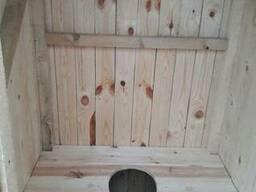 Туалет из массивам - фото 4