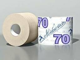 Туалетная бумага с гильзой 70 м, светлая