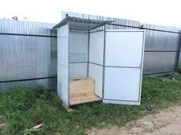 Туалет дачный. Бесплатная доставка по Гомельской области!