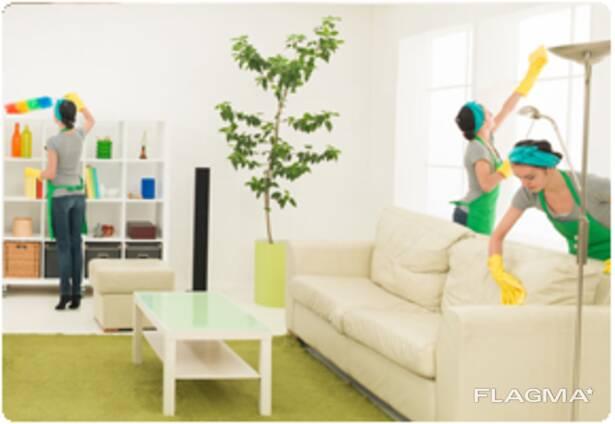 Уборка квартир, домов, офисов, кафе и ресторанов