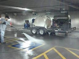 Уборка парковок и паркинга
