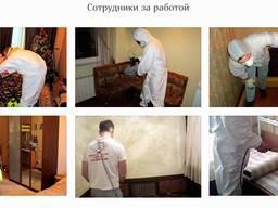 Уборка после смерти человека в Жодино