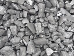 Уголь для кузни и котла ДОМ (орех мелкий 13-50) мешки 25 кг