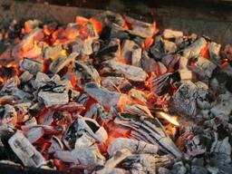 Уголь для мангала фруктовый